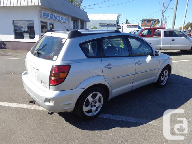 2005 pontiac vibe 152 kms for sale in nanaimo british columbia classifieds. Black Bedroom Furniture Sets. Home Design Ideas