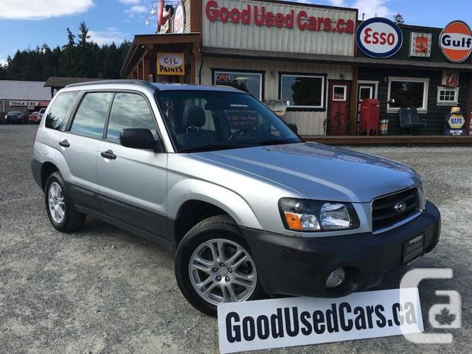 2005 Subaru Forester Only 168,000 KM with Service