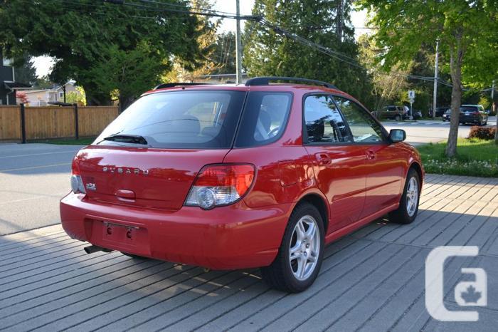 2005 Subaru Impreza 2.5 RS AWD