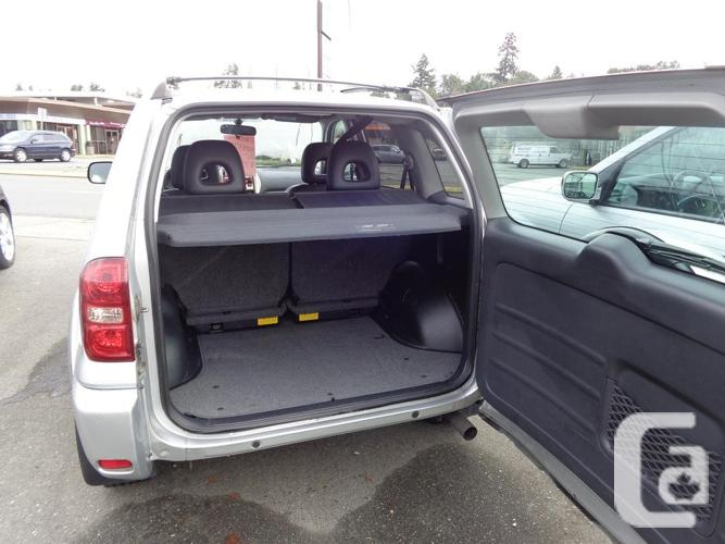 2005 toyota rav4 4wd for sale in nanaimo british columbia. Black Bedroom Furniture Sets. Home Design Ideas