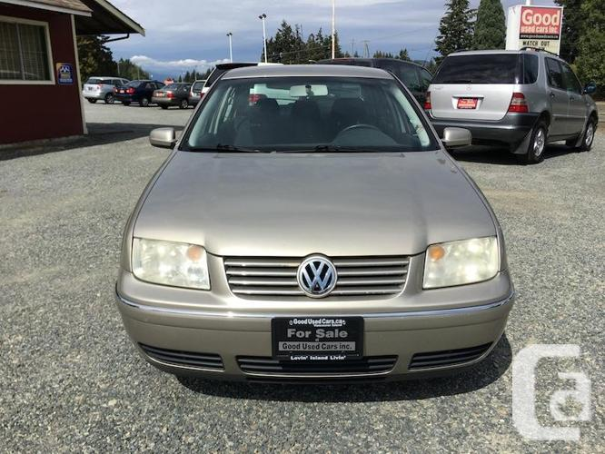2005 Volkswagen Jetta - 2.0 L Manual with only 172,000