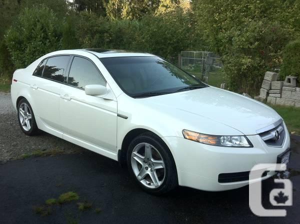 2006 ACURA TL - PEARL WHITE LOCAL BC CAR - $14499