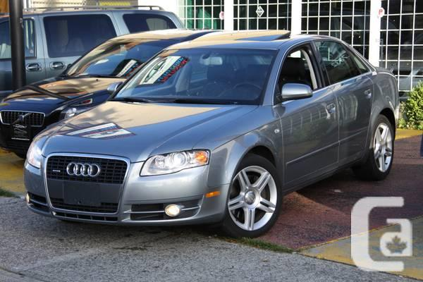 2006 audi a4 2 0 t quattro luxury pkg for sale in vancouver british columbia classifieds. Black Bedroom Furniture Sets. Home Design Ideas