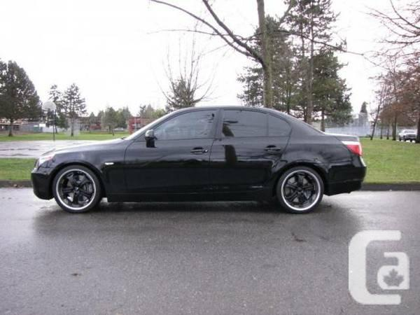 2006 bmw 5 series for sale in vancouver british columbia classifieds. Black Bedroom Furniture Sets. Home Design Ideas