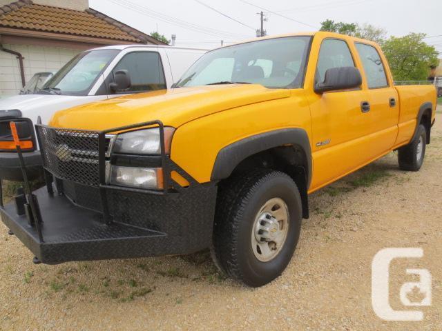 2006 CHEVROLET SILVERADO 3500 4X4 CREW CAB LONG BOX