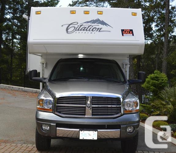 2006 Citation Supreme 860 Truck Camper in Victoria, British Columbia for  sale