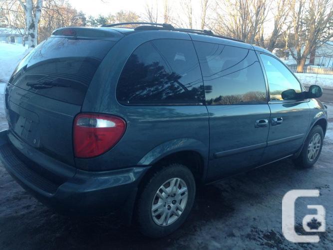 2006 Dodge Caravan. New Inspection. Winter Tires