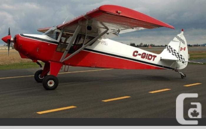 2006 EXPERIMENTAL PA-22-20-160hp Tailwheel/Amphib Aircraft in Victoria,  British Columbia for sale