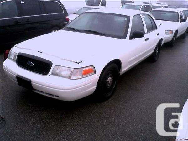 2006 Ford Crown Victoria - $2500