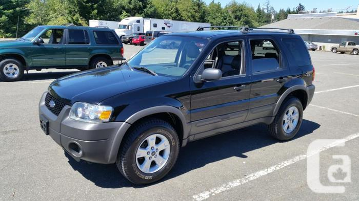 2006 ford escape xlt awd for sale in victoria british columbia classifieds. Black Bedroom Furniture Sets. Home Design Ideas