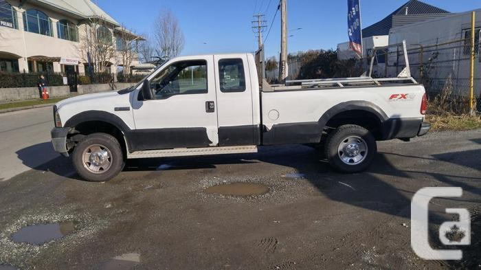 2006 Ford F250 FX4 Superduty Extended Cab 4X4 Pickup