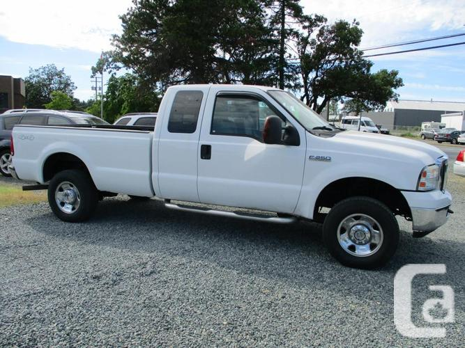 2006 ford f250 xlt 4x4 extracab - new cam phasers and