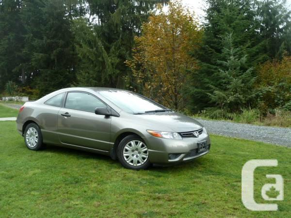 2006 honda civic 2 door coupe for sale in abbotsford for 08 honda civic 2 door