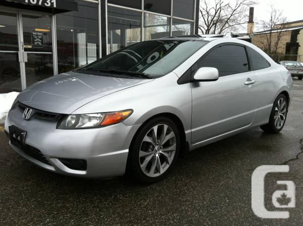2006 honda civic si coupe automatic 2 sets of tires rims for sale in belleville ontario. Black Bedroom Furniture Sets. Home Design Ideas