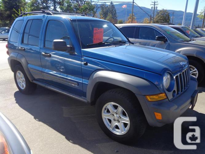 2006 jeep liberty 4x4 crd turbo diesel for sale in nanaimo british. Cars Review. Best American Auto & Cars Review