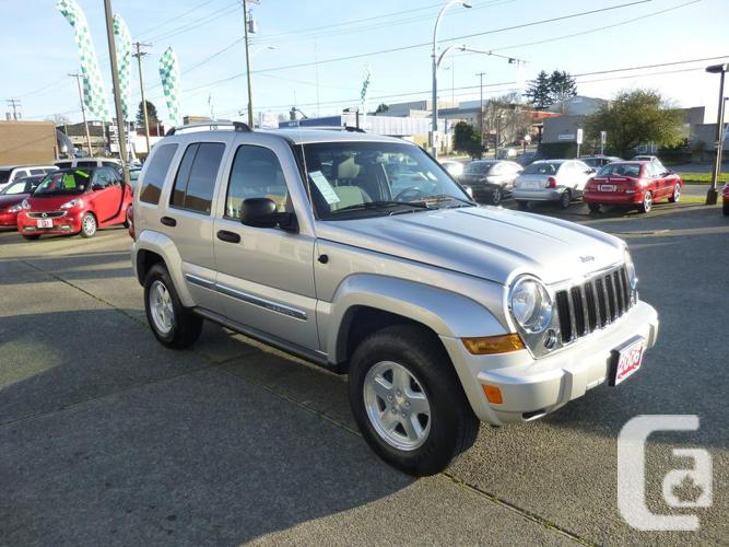 2006 jeep liberty crd diesel for sale in victoria british columbia. Cars Review. Best American Auto & Cars Review