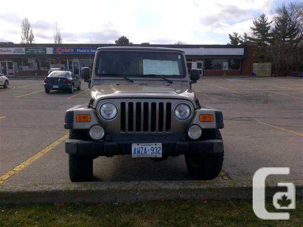 2006 jeep wrangler rubicon unlimited for sale in stoney creek ontario classifieds. Black Bedroom Furniture Sets. Home Design Ideas