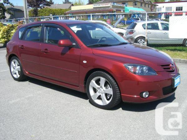 2006 mazda 3 sport gt k3411 for sale in vancouver british columbia classifieds. Black Bedroom Furniture Sets. Home Design Ideas