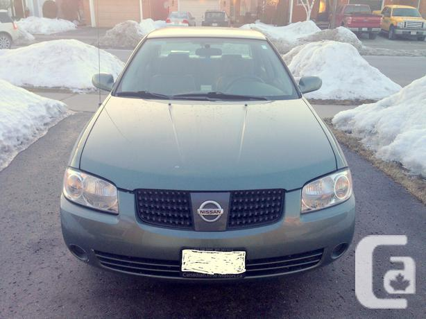 2006 nissan nissan sentra special edition 1 8 l automatic transmission for sale in scarborough. Black Bedroom Furniture Sets. Home Design Ideas