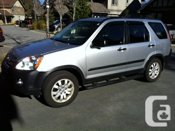 2006 Silver Honda CRV - $13000
