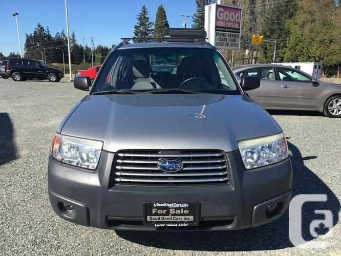 2006 Subaru Forester - Symmetrical All-Wheel-Drive