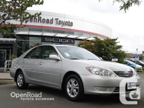 2006 toyota camry le open road toyota for sale in vancouver british columbia classifieds. Black Bedroom Furniture Sets. Home Design Ideas