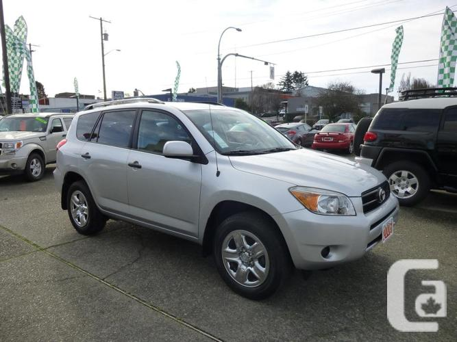 Vehicles Other Automobiles For Sale In Victoria Bc: 2006 Toyota Rav4 For Sale In Victoria, British Columbia