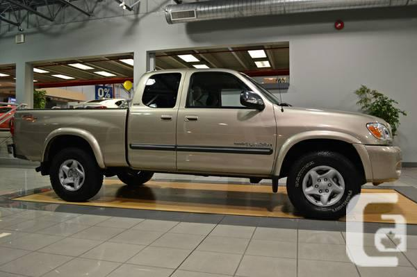 2006 toyota tundra extra cab 4x4 low km for sale in calgary alberta classifieds. Black Bedroom Furniture Sets. Home Design Ideas