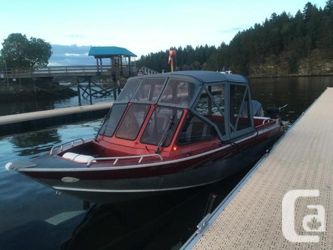 2007 21ft Northriver Seahawk welded aluminum boat
