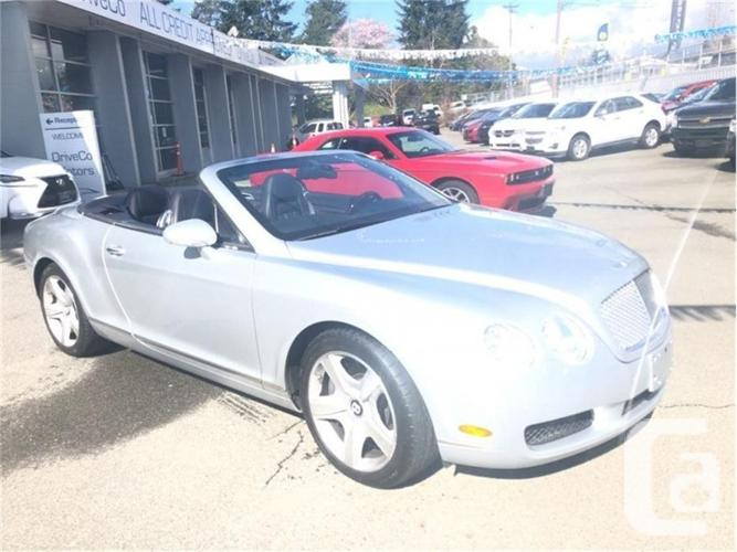 2007 Bentley Continental GT Convertible  LOCAL NO ACC