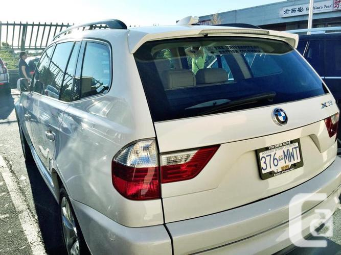 2007 BMW X3 3.0si - M SPORT PACKAGE