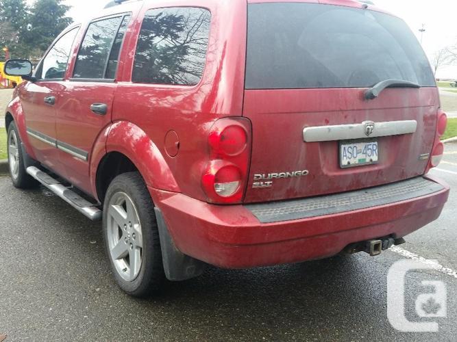 2007 Dodge Durango SLT 8 Passenger