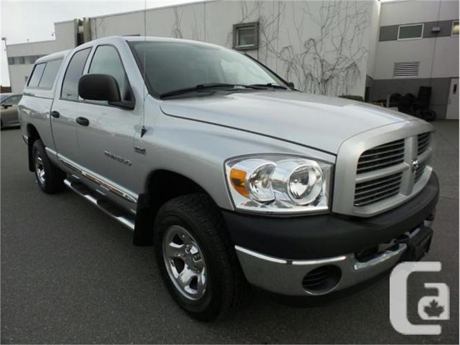 2007 dodge ram 1500 st 4x4 for sale in nanaimo british columbia classifieds. Black Bedroom Furniture Sets. Home Design Ideas