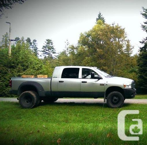 2007 Dodge Ram 3500 Mega cab dually - standard for sale in Hornby