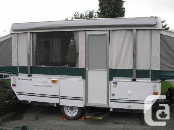 2007 Fleetwood Westlake 12 Foot Tent Trailer For Sale In