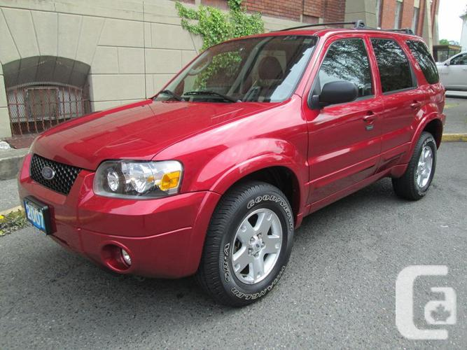 2007 Ford Escape Limited AWD - FULLY LOADED!