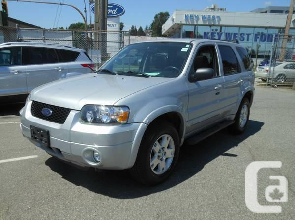 2007 FORD ESCAPE LIMITED Low KM-#274664