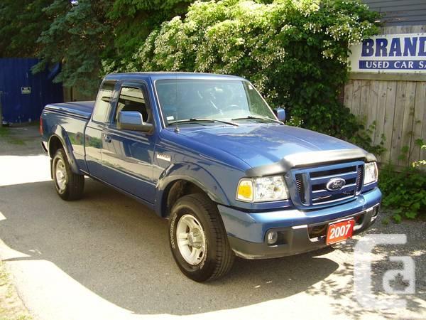 2007 FORD RANGER - $7995