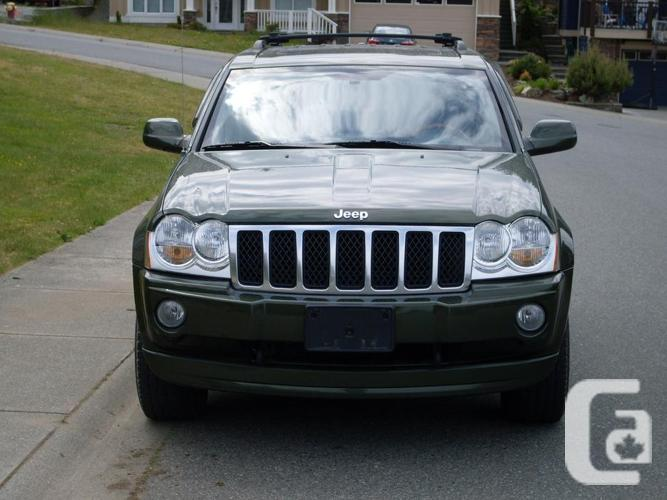 2007 grand cherokee diesel for sale in nanaimo british columbia classifieds. Black Bedroom Furniture Sets. Home Design Ideas