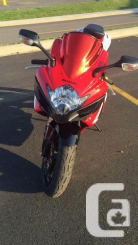 2007 GSXR 600 Low KM!