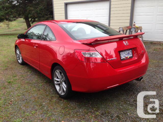 2007 honda civic si for sale in victoria british columbia classifieds. Black Bedroom Furniture Sets. Home Design Ideas