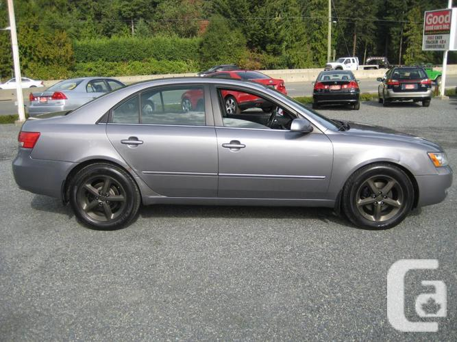 2007 hyundai sonata leather sunroof alloy wheels for sale in cobble hill british columbia. Black Bedroom Furniture Sets. Home Design Ideas