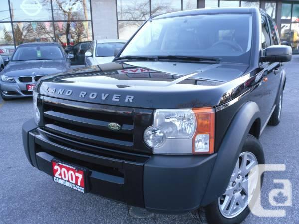 2007 Land Rover LR3 -CAMERA=TV=DVD - $14887