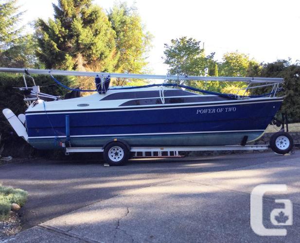 2007 MacGregor 26M Sailboat with 50 hp  Suzuki 4 Stroke motor in Shawnigan  Lake, British Columbia for sale