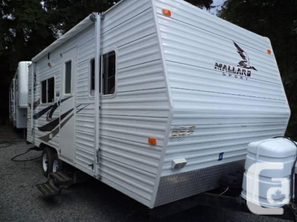 2007 Mallard 19fq Lightweight Journey Trailer For Sale