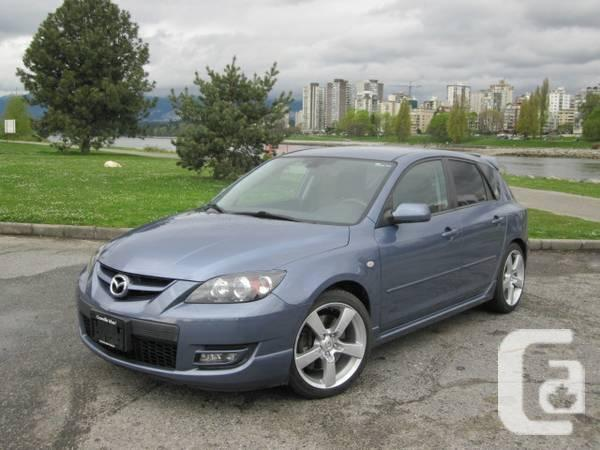 2007 mazda mazdaspeed3 71 200km 6 speed manual rare. Black Bedroom Furniture Sets. Home Design Ideas