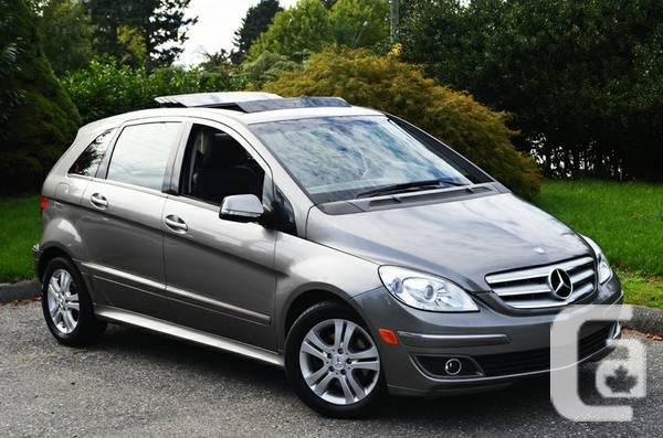2007 Mercedes B200 Turbo with Panama Sunroof with only 59000
