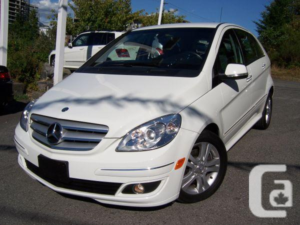 2007 MERCEDESBENZ B200 TURBO 41000 KM WHITE COLOR  for sale in
