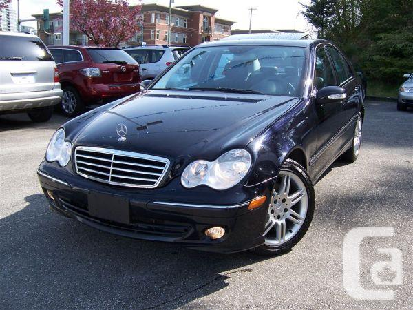 2007 mercedes benz c280 4matic 76000km 39 s for sale in for Mercedes benz vancouver bc