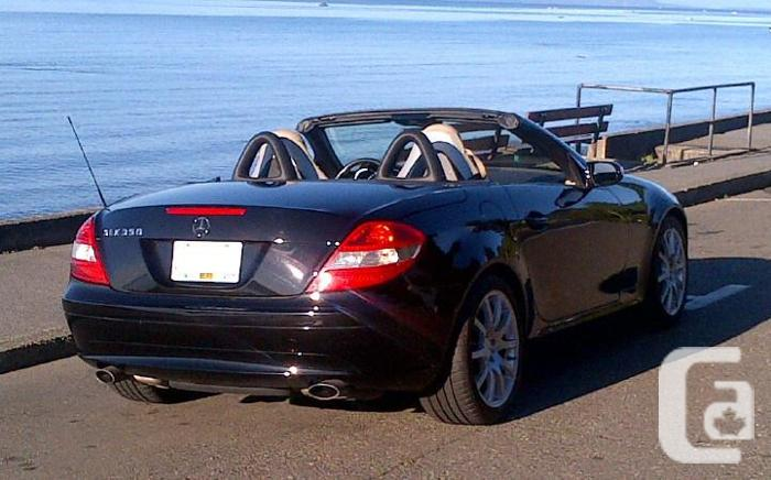 2007 mercedes benz slk 350 convertible for sale in parksville british columbia classifieds